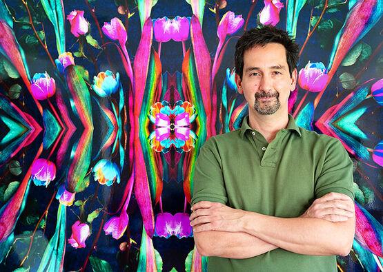 Porträt des Künstlers Thomas Kolenbrander