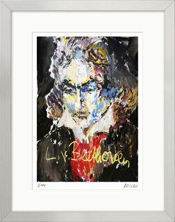 """Bild """"Ludwig van Beethoven"""" (2020), gerahmt"""