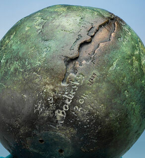 """Skulptur """"Metamorphose"""", Bronze"""
