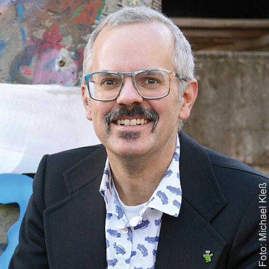 Porträt des Künstlers Patrick Preller