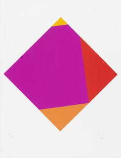 "Bild ""Transkoloration VII"" (1986)"