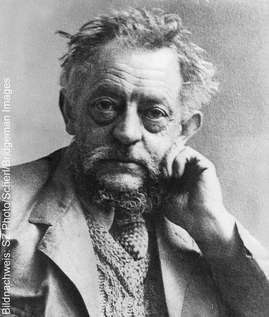 Porträt des Künstlers Ernst Barlach