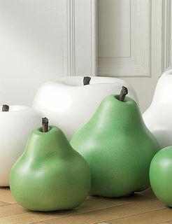 "Keramikobjekt ""Birne grün"" (Große Version - o. Abbildung)"