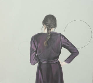 "Bild ""Kreise II"" (2020) (Unikat)"