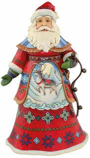 """Skulptur """"Nordic Santa"""", Kunstguss"""
