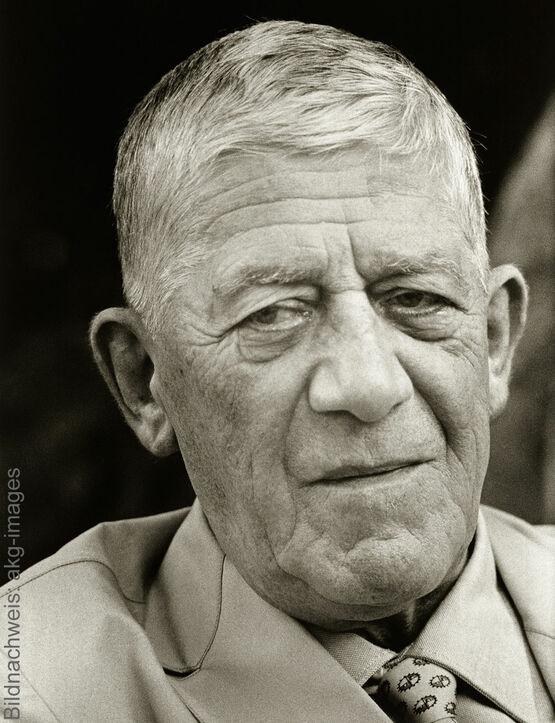 Porträt des Künstlers Oskar Kokoschka
