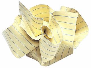 "Briefbeschwerer ""Notiz"" - MoMA Kollektion - Design Tibor Kalman"