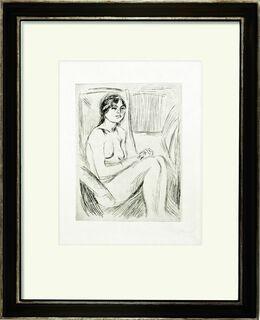 """Bild """"Celline Nude"""" (1912)"""