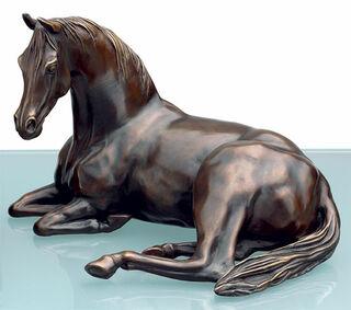 """Pferdeskulptur Araber-Stute """"Arabien mare"""", Bronze"""