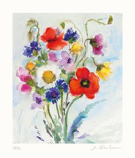 """Bild """"Wiesenblumen"""" (2017), ungerahmt"""