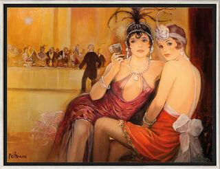 """Bild """"Entre Deux Danses"""", gerahmt"""