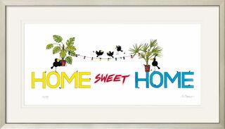 "Bild ""Home Sweet Home"", gerahmt"