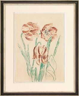"""Bild """"Tulpen"""" (1906) (Unikat)"""