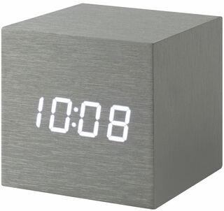 "LED-Tischuhr ""Alume Cube"" mit Alarmfunktion - MoMA Kollektion - Design Natalie Sun"