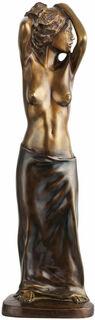 """Skulptur """"Femme sur la plage"""", Bronze"""