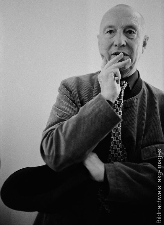 Porträt des Künstlers Georg Baselitz