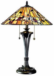 "Tischlampe ""Bernwood"" - nach Louis C. Tiffany"