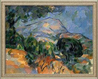 """Bild """"La Montagne Sainte-Victoire"""" (um 1894), gerahmt"""