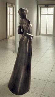 """Skulptur """"Die Welt"""", Version in Kunstbronze"""