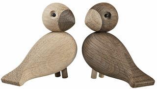 """2 Holzfiguren """"Turteltauben"""" im Set"""