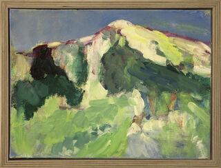 "Bild ""Gebirge I"" (2019) (Unikat)"