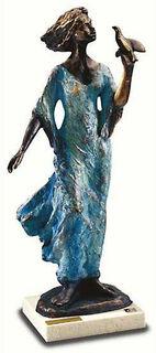 "Skulptur ""Peace"", Kunstbronze"