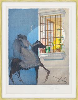 """Bild """"Don Jose und Carmen fliehen"""" (1970)"""