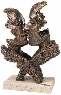 "Skulptur ""Desire"", Kunstguss Steinoptik"