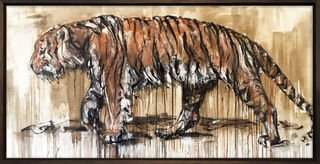 "Bild ""Tiger 4"" (2020) (Unikat)"