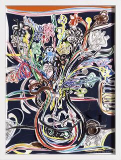 "Bild ""Blumen Juli 2"" (2019) (Unikat)"