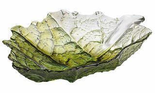 """Glasschale """"Ahornblatt"""" (mittelgroß, Ø 18 cm)"""