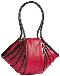 """Handtasche """"Lady-Stripe"""", Version rot/schwarz"""
