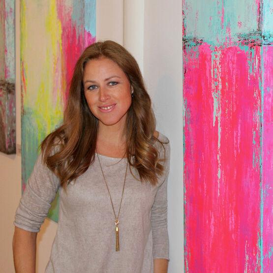 Porträt der Künstlerin Constance Renken