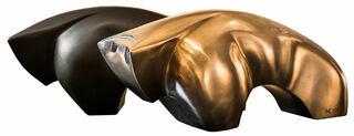 "Skulptur ""Bullish Star"", Version Bronze (hinten auf Abbildung)"