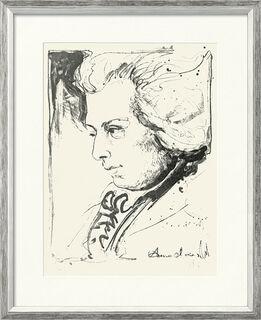 "Bild ""Mozart"", gerahmt"