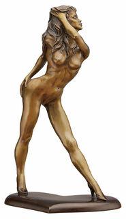 """Skulptur """"Queen of Heart"""", Bronze"""