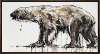 """Bild """"Polar Bear_18"""" (2020) (Unikat)"""