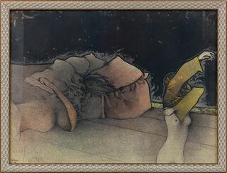 """Bild """"Zurigo"""" (1974), gerahmt"""