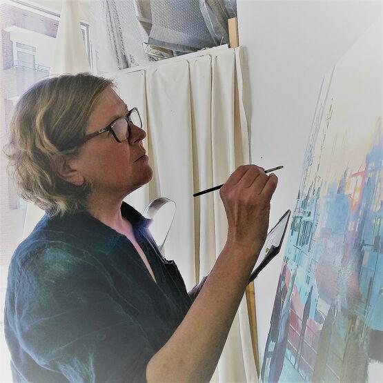 Porträt der Hamburger Künstlerin Ulla Kutter