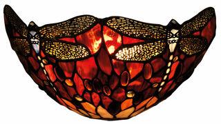 "Wandleuchte ""Rote Libelle"" - nach Louis C. Tiffany"