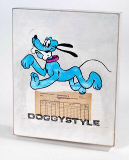 """Wandobjekt """"Doggystyle"""" (2019) (Unikat)"""