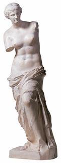 "Skulptur ""Venus von Milo"" (Reduktion, Höhe 88 cm), Kunstmarmor"