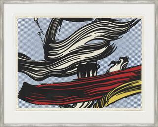 "Bild ""Brushstrokes"" (1967)"