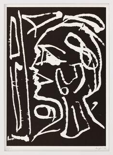 """Bild """"Kopf am Fenster"""" (1990)"""