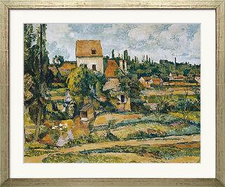 """Bild """"Die Mühle an der Couleuvre bei Pontoise"""" (1881), gerahmt"""