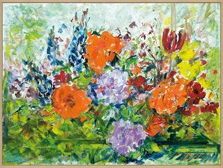 """Bild """"Frühlingspracht im Wintergarten"""" (2007) (Unikat)"""