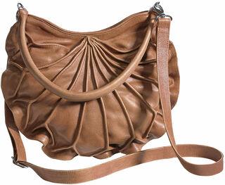 """Handtasche """"Lotus"""", braune Version"""