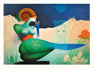 """Bild """"Ammonite in Gedanken"""" (2015), ungerahmt"""