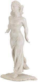 "Skulptur ""Tänzerin"", Version in Kunstmarmor"