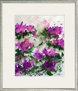 """Bild """"Rhododendren"""" (1997) (Unikat)"""